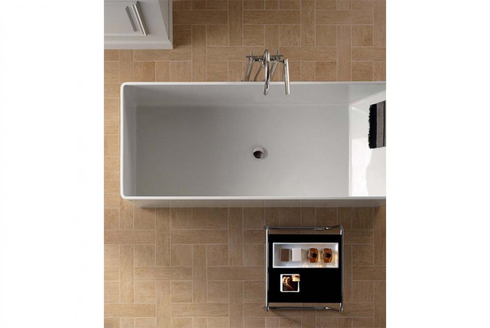 Mensola bagno per lavabo acquista mensole e piani lavabo - Trattamento legno per bagno ...